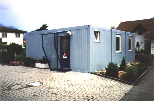 wohncontainer wohnanlagen wohncontaineranlagen standard und sondercontainer von schmidt. Black Bedroom Furniture Sets. Home Design Ideas